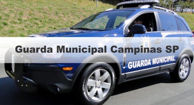 Concurso Guarda Municipal Campinas SP: Inscrições Abertas para 60 vagas