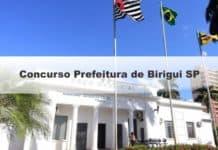 Concurso Prefeitura de Birigui SP