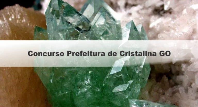 Concurso Prefeitura de Cristalina GO 2019: Provas dia 20 de outubro