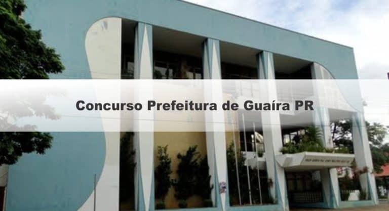 Concurso Prefeitura de Guaíra PR 2019: Confira aqui o local de prova