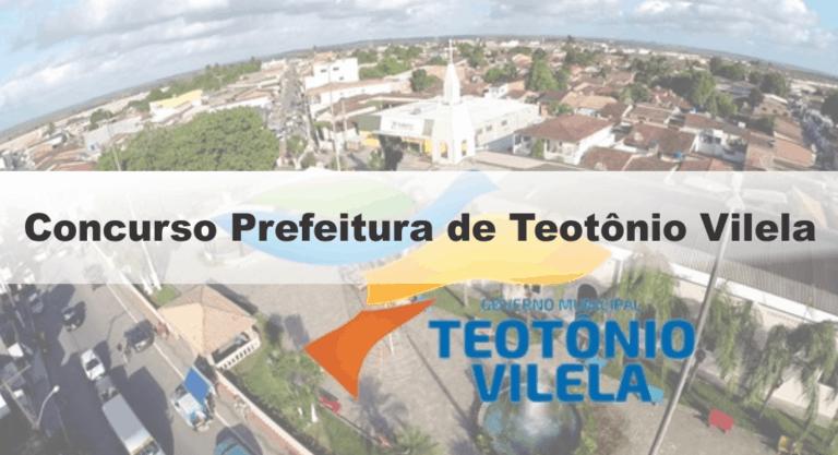Concurso Prefeitura de Teotônio Vilela (AL): Inscrições Abertas para 392 vagas