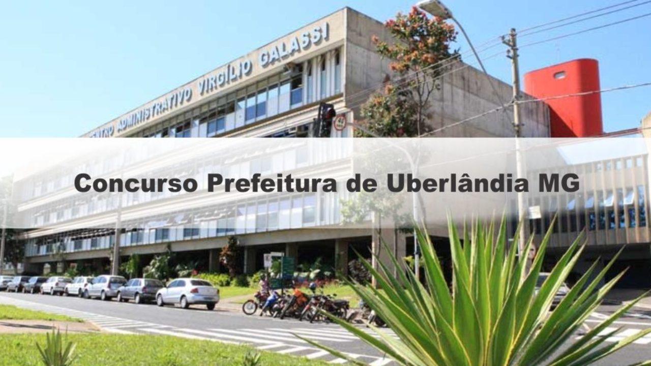 Concurso Prefeitura de Uberlândia MG 2019: Provas em Dezembro