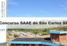 Concurso SAAE de São Carlos SP