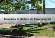 Concurso da Prefeitura de Paranaíba MS