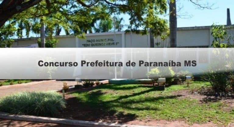 Concurso da Prefeitura de Paranaíba MS 2019: Confira os locais de prova