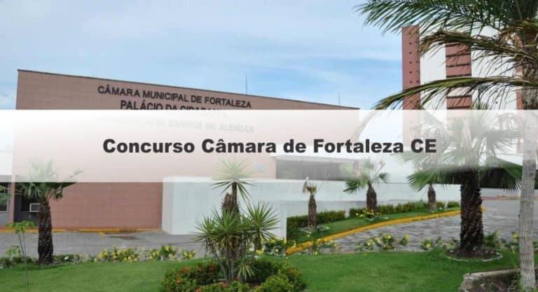 Concurso Câmara de Fortaleza CE 2019: Data e locais das provas objetivas e discursiva