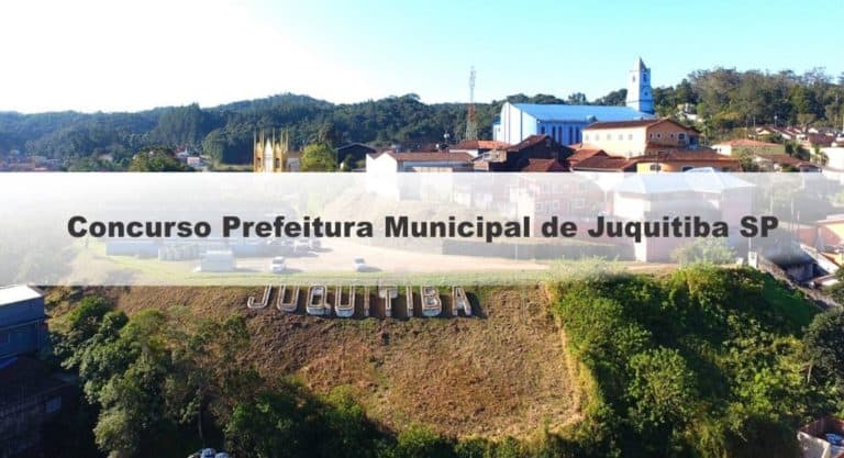 Concurso Prefeitura Municipal de Juquitiba SP 2019: Inscrições Abertas