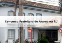 Concurso Prefeitura de Araruama RJ 2019