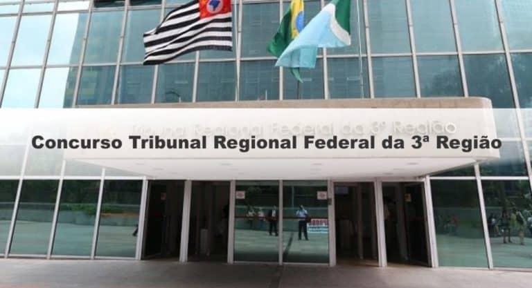 Concurso TRF 3ª Região 2019: FCC é definida organizadora