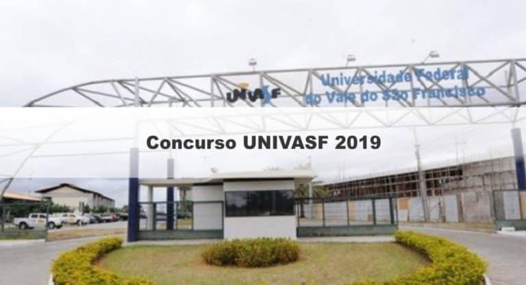 Concurso UNIVASF 2019: Provas em setembro para Técnico-Administrativos