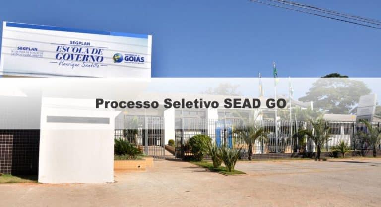 Processo seletivo SEAD GO 2020: Inscrições vão até hoje, 20! Até R$ 4.665,82!