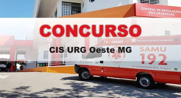 Concurso CIS URG Oeste MG: São 377 vagas!