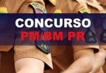 Concurso CBM/PM PR