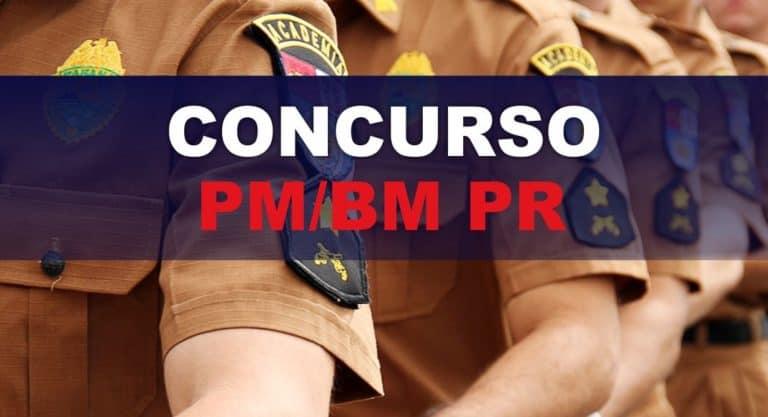 Concurso PM PR e CBM PR: Saiu o Edital com 2.400 vagas para Soldados
