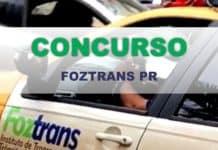 Concurso FOZTRANS PR 2019