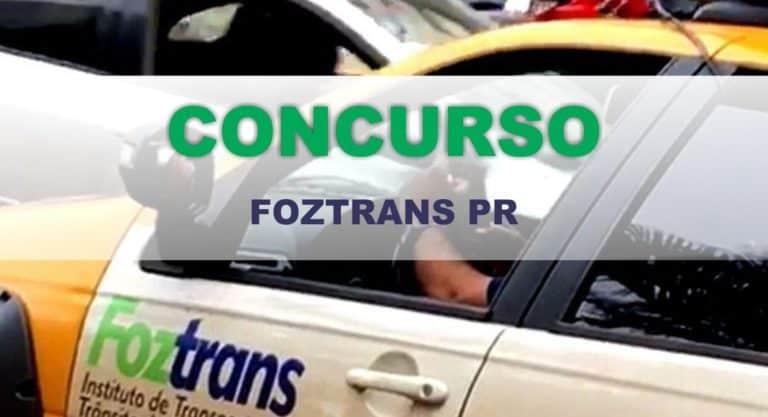 Concurso FOZTRANS PR 2019: Inscrições Abertas!