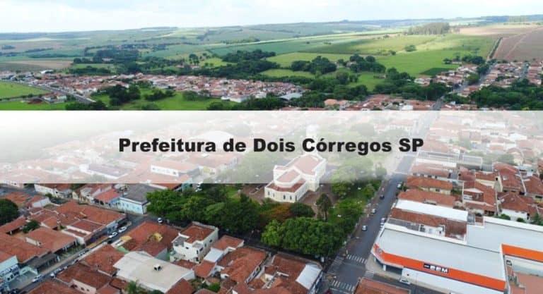 Concurso Prefeitura de Dois Córregos SP: Saiu o Edital com 37 vagas