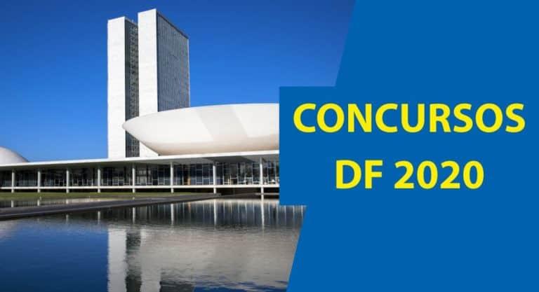 Concursos DF 2020: Principais concursos previstos para o DF em 2020!