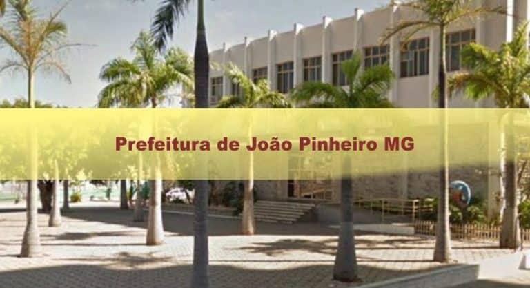 Prefeitura de João Pinheiro MG: Edital com mais de 180 vagas!