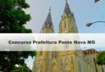 Concurso Prefeitura Ponte Nova MG