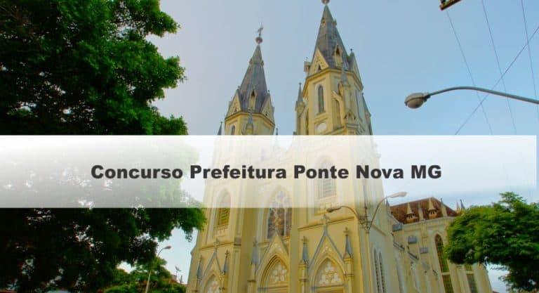 Concurso Prefeitura Ponte Nova MG: Saiu o Edital com 558 vagas