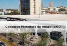 Concurso Prefeitura de Anápolis GO