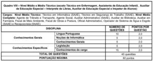 Quadro 8 concurso Prefeitura de Formiga MG 300x119 - Concurso Prefeitura de Formiga-MG: Inscrições Abertas para 413 vagas de todos os níveis