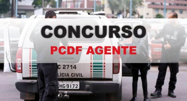 Concurso PCDF: AUTORIZADO Edital para Agente com 1,8 mil vagas