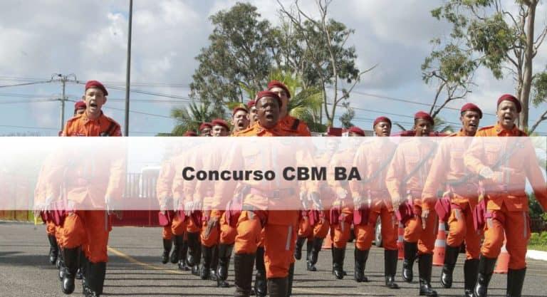 Concurso CBM BA Soldado: Provas em Janeiro. São 250 vagas