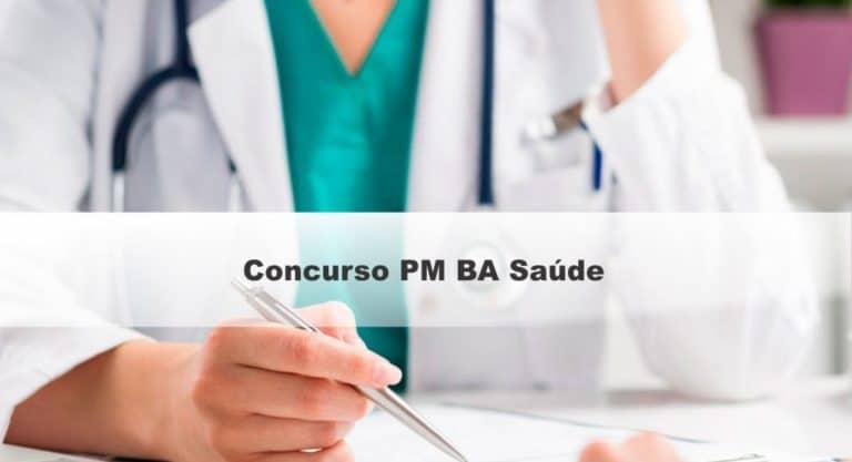 Concurso PM BA Saúde: Inscrições Abertas para 17 vagas