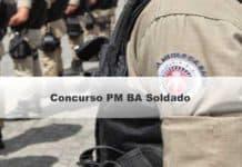Concurso PM BA Soldado