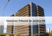 Concurso Tribunal de Justiça RS