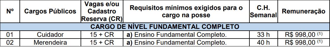 cargos pelotas nivel fundamental - Concurso Educação Pelotas RS: Inscrições Abertas para vagas da área de Educação