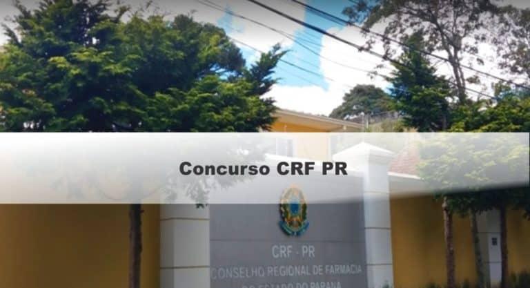 Concurso CRF PR: Provas em Dezembro