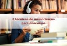 técnicas de memorização para concursos