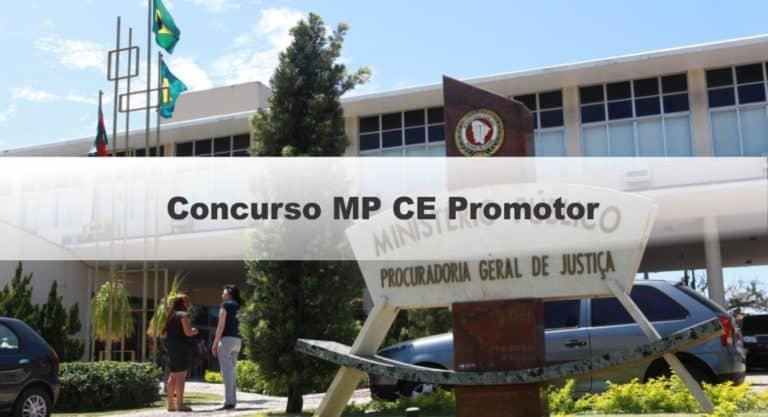 Concurso MP CE Promotor: Inscrições Abertas até sexta (3)