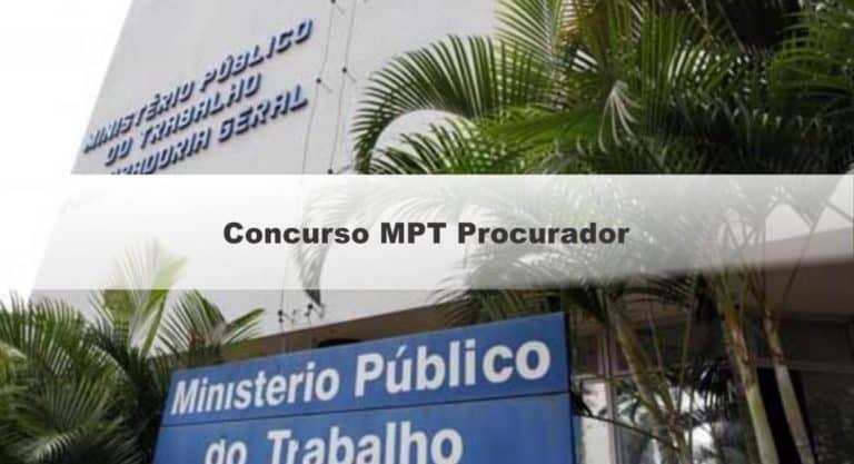 Concurso MPT: Saiu o Edital com vagas Procurador