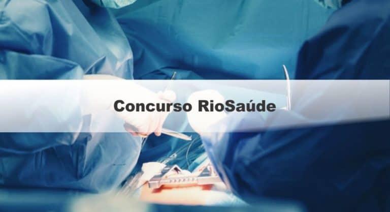 Concurso RioSaúde: Inscrições Abertas para 2.717 vagas de níveis médio e superior
