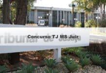Concurso TJ MS Juiz