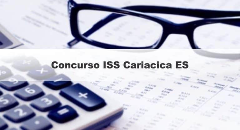 Concurso ISS Cariacica ES: Inscrições Abertas