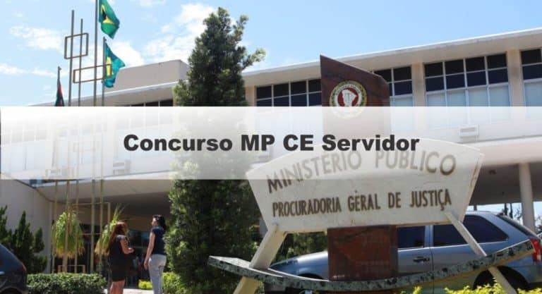 Concurso MP CE Servidor: Locais de provas divulgados