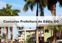 Concurso Prefeitura de Edéia GO