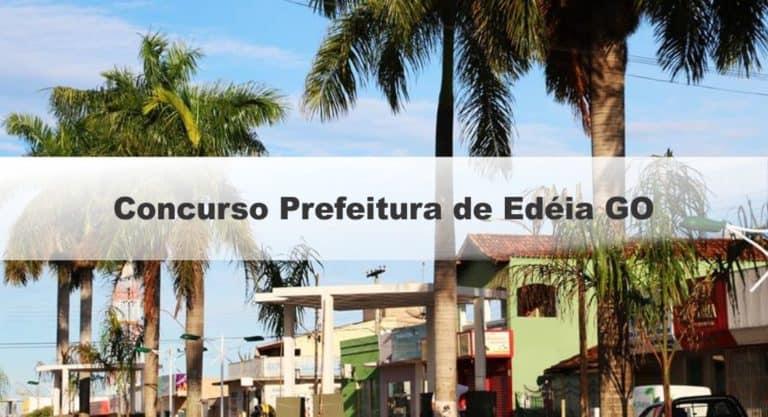 Concurso Prefeitura de Edéia GO: Provas em Fevereiro