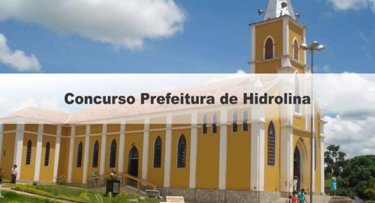 Concurso Prefeitura de Hidrolina GO: Saiu o Edital com mais de 300 vagas