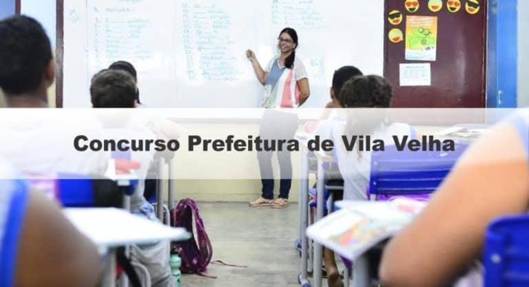 Concurso Prefeitura de Vila Velha Magistério: Inscrições Abertas!