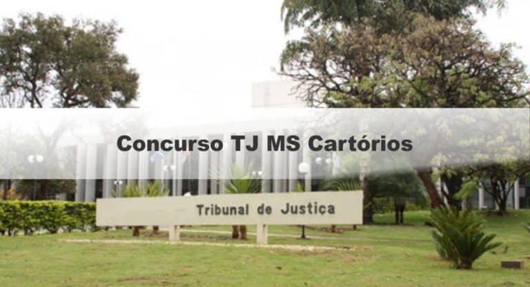 Concurso TJ MS Cartórios: Inscrições Abertas para 54 vagas