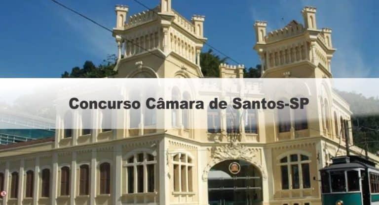 Concurso Câmara de Santos-SP: Inscrições Encerradas