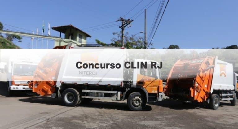 Concurso CLIN RJ 2020: Abertas as inscrições