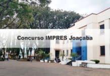 Concurso IMPRES Joaçaba SC