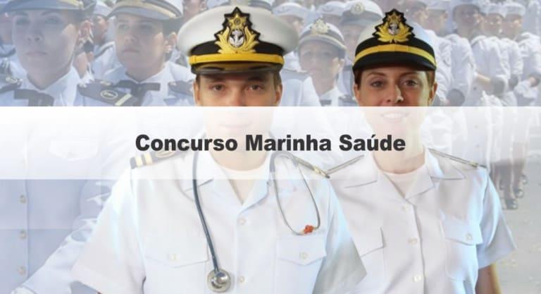 Concurso Marinha Saúde: Saiu o Edital com 33 vagas